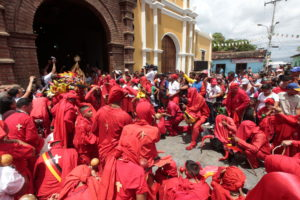 THE DEVIL DANCERS OF VENEZUELA